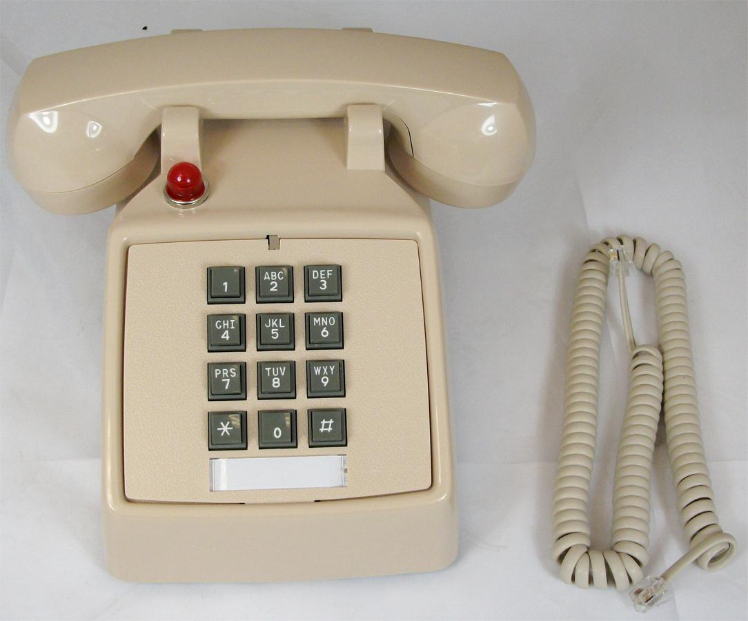 Cortelco ITT-2500-57MD-ASHM 250044-VBA-57MD Desk w/ Message Waiting