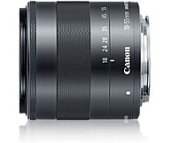 """Canon - 18 Mm To 55 Mm - F/3.5 - 5.6 - Zoom Lens For Canon Ef-m - 52 Mm Attachment - 0.25x Magnification - 3.1x Optical Zoom - Optical Is - Stm - 2.4""""diameter 5984b002"""