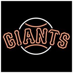Neon Signs - San Francisco Giants