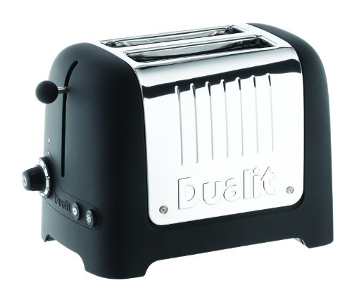Dualit 25375 Lite Soft Touch 2-Slice Toaster, Black