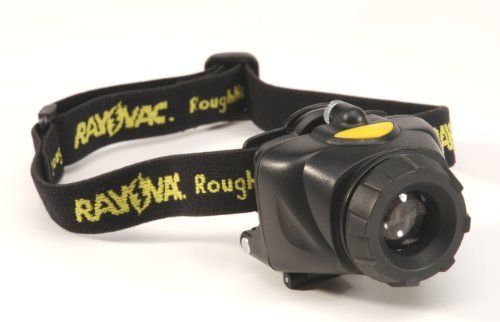 Rayovac RNHL3AAA-B Roughneck 80-Lumen LED Headlamp