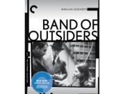 Band of Outsiders Movie Titles: Band Of Outsiders Format: Blu-Ray Rating: Not Rated Genre: Mystery / Suspense / Thrillers Year: 1964 Release Date: 2013-05-07 Studio: Criterion Collection Director: Jean-Luc Godard