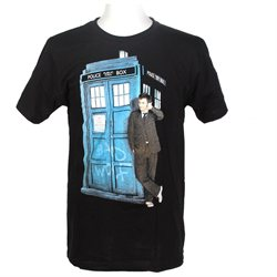 Doctor Who Men's Bad Wolf 10th Doctor T-Shirt