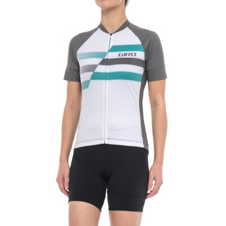 Chrono Expert Jersey - Full Zip, Short Sleeve (for Women)