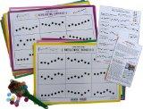 Melodic Bingo Cards by Michiko Yurko