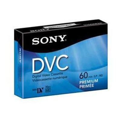 DVM 60PRR - Premium - Mini DV tape - 1 x 60min