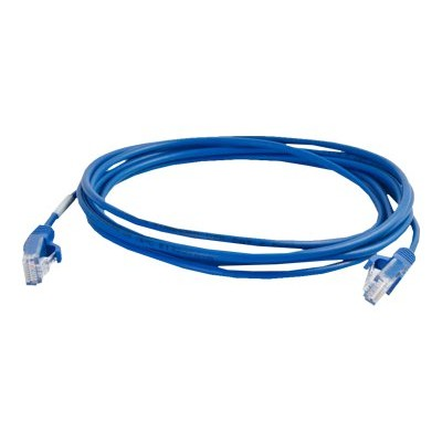 C2g 01076 3ft Cat6 Snagless Unshielded (utp) Slim Ethernet Network Patch Cable - Blue