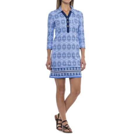 Camper Dress - Upf 50 , 3/4 Sleeve (for Women)