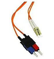 C2g 33020 22.97 Feet Duplex 50/125 Multimode Fiber Optic Patch Cable - 2 X Lc Male, 2 X Sc Male - Orange