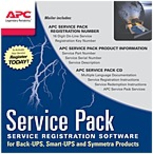 Apc Service/support - 1 Year Extended Warranty - Service - 24 X 7 - Maintenance - Electronic And Physical Service