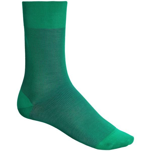 Falke Fine Shadow Socks - Mercerized Cotton-Nylon (For Men)