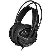 Steelseries Siberia V3 Gaming Headset - Stereo - Black - Mini-phone - Wired - 35 Ohm - 20 Hz - 20 Khz - Over-the-head - Binaural - Circumaural - 3.94 Ft Cable - Uni-directional Microphone 61357