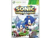 Sonic Generations Xbox 360 Game