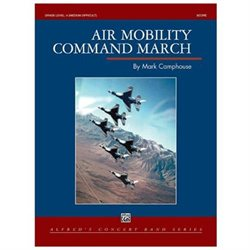 Alfred Publishing 00-29491 Air Mobility Command March - Music Book