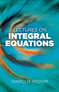 This concise and classic volume presents the main results of integral equation theory as consequences of the theory of operators on Banach and Hilbert spaces