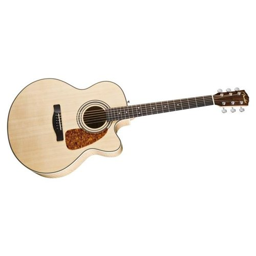 Fender CD 290SCE Jumbo Cutaway Acoustic-Electric Guitar Natural
