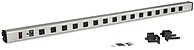 The Kendall Howard 1918 3 004 F 48 inch LAN Station Power Strip combines state of the art electronic protection with a basic but attractive design that is perfect and safe for the home and contemporary workplace