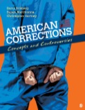 American Corrections: Concepts and Controversies, by Barry Krisberg, Susan Marchionna, and Chris Hartney, presents an incisive view of every aspect of corrections (including jails, probation, sentencing, prisons, and parole), prompting students to think critically about the complex issues involved in responding to the current crisis in the U.S