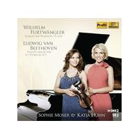 Wilhelm Furtwängler: Sonata for violin & piano No. 1; Beethoven: Sonata for piano & violin No. 1 (Music CD)