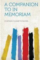 A Companion To In Memoriam