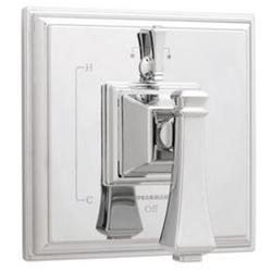 Diverter Pressure Balance Valve and Trim, Faucet Trim Only, Chrome, Diverter, ADA Compliant, Jet