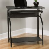 Comfort Products 50-1001 Stanton Computer Desk with Pullout Keyboard Tray