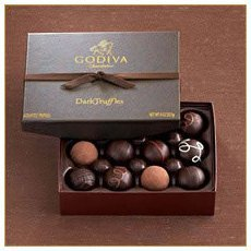 Godiva Dark Chocolate Truffles Gift Box (12pcs)