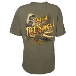 Swamp People Dats A Tree Shaka Troy Landry T-Shirt-medium