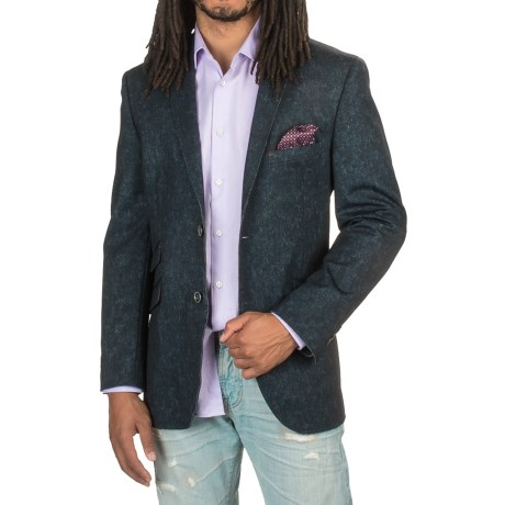 James Campbell Raw-edge Knit Sport Coat (for Men)
