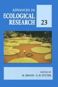 Advances In Ecological Research: Volume 23