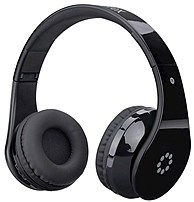 Memorex Mhbt0245bk Bluetooth Headphones With Touch Control - Black