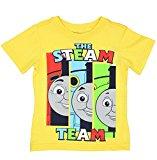 Hit Entertainment LTD Thomas & Friends Short Sleeve Tee (5T, Yellow Steam Team)