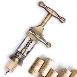 Multifunctional Wine Bottle Opener Tool Cork Bottle Tire Corkscrew Collar Pourer Gift Box Bottle Opener