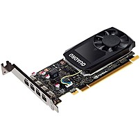 Pny Quadro P1000 Graphic Card - 4 Gb Gddr5 - Low-profile - Single Slot Space Required - 128 Bit Bus Width - Fan Cooler - Opengl 4.5, Directx 12, Opencl, Vulkan 1.0, Directcompute - 4 X Mini Displayport - Linux, Pc - 4 X Monitors Supported Vcqp1000-pb