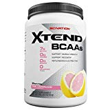 Scivation Xtend BCAA Powder, Branched Chain Amino Acids, BCAAs, Pink Lemonade, 90 Servings