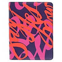 """Verso Artist Carrying Case For 10.1"""" Ipad - Faux Leather - Say Yes Now - 10.6"""" Height X 8.5"""" Width Vr062-122-23"""