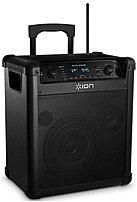Ion Ipa76c Block Rocker 2-way Speaker For Pa System - 50 Watts - Wireless - Black
