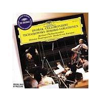Dvorak/Tchaikovsky - Cello Concerto/Rococo Variations (Rostropovich/Karajan) (Music CD)