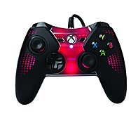 Enjoy your favorite games and browse streaming media on your Xbox One with help from this PowerA Spectra CPFA115536 01 Wired Game Pad