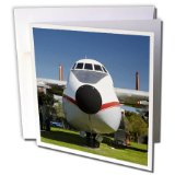 Danita Delimont - Airplanes - Argosy cargo airplane, Marlborough, New Zealand - AU02 DWA7210 - David Wall - 6 Greeting Cards with envelopes (gc_133913_1)