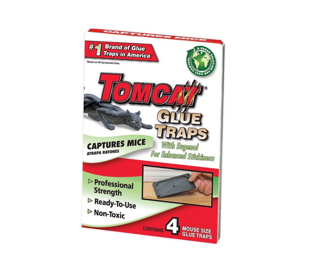 Tomcat 0362310 Mouse Glue Trap, Plastic