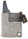 Stunning Harris Tweed Medium Cross Body Bag Official Commonwealth Product 2014