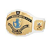 WWE AUTHENTIC WEAR White Intercontinental Championship Commemorative Title Belt (2014)