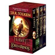 J. R. R. Tolkien 4-book Boxed Set: The Hobbit And The Lord Of The Rings (movie Tie-in) : The Hobbit, The Fellowship Of The Ring, The Two Towers, The Return Of T