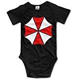 Newborn Infant\r\n Umbrella Corp Symbol Resident Evil Film Baby Onesies Bodysuit