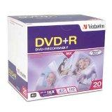 Disc DVD R 4.7GB 16X Branded Surface 20/PK Slim Case