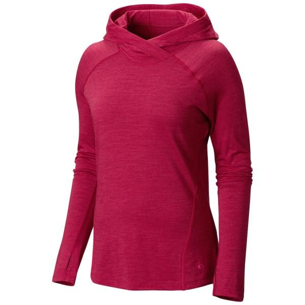 Mountain Hardwear Integral Pro Hooded Shirt - Merino Wool, Long Sleeve (For Women)