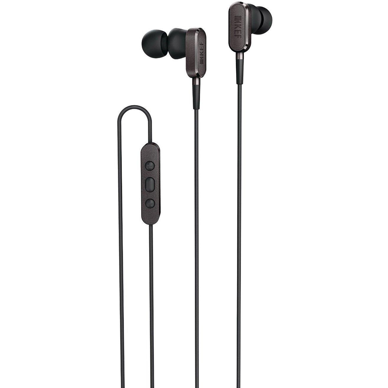 KEF M-Series M100 Earbuds - Black