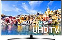 Step up your entire home theater with the Samsung UN49KU7000FXZA featuring 4K UHD Resolution, High Dynamic Range content and Active Crystal Color