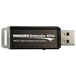 Kanguru KDFE-64G 64GB Defender Elite USB 2.0 Flash Drive